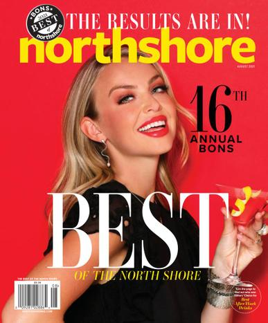 Northshore Magazine August 1st, 2021 Issue Cover