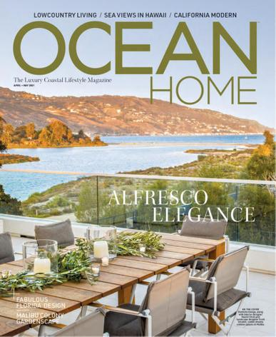 Ocean Home Magazine April 1st, 2021 Issue Cover