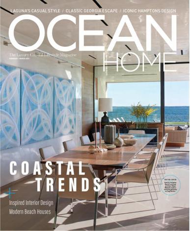 Ocean Home Magazine February 1st, 2021 Issue Cover