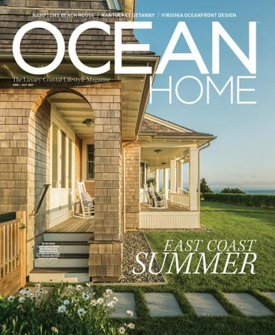 Ocean Home Magazine June 1st, 2021 Issue Cover