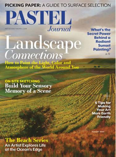 The Pastel Journal Magazine July 1st, 2020 Issue Cover
