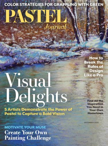 The Pastel Journal Magazine November 1st, 2020 Issue Cover