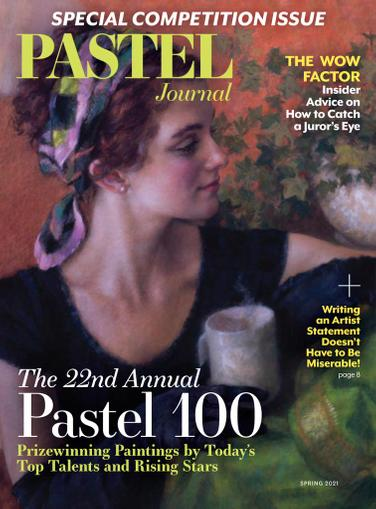 The Pastel Journal Magazine March 1st, 2021 Issue Cover
