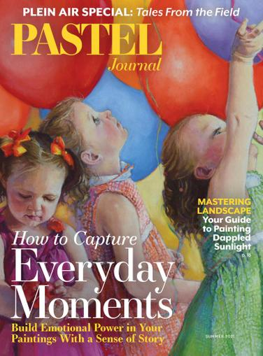 The Pastel Journal Magazine May 1st, 2021 Issue Cover