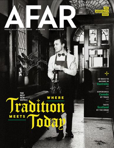 Afar Magazine May 1st, 2020 Issue Cover