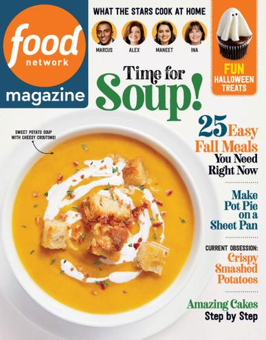 Food Network Magazine October 1st, 2020 Issue Cover