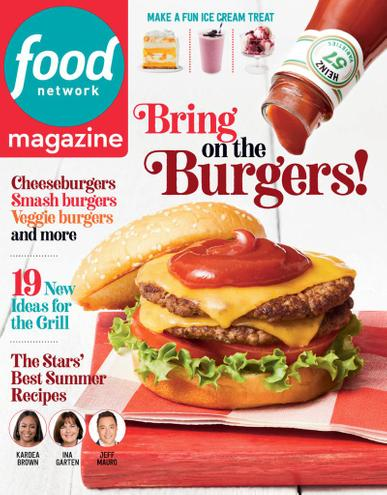Food Network Magazine July 1st, 2021 Issue Cover