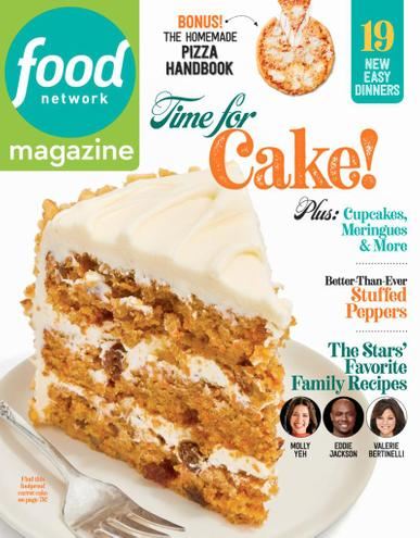 Food Network Magazine May 1st, 2021 Issue Cover