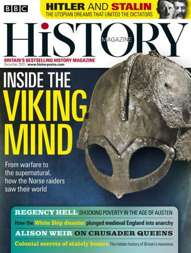 BBC History Magazine December 1st, 2020 Issue Cover