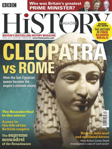 BBC History Magazine April 1st, 2021 Issue Cover