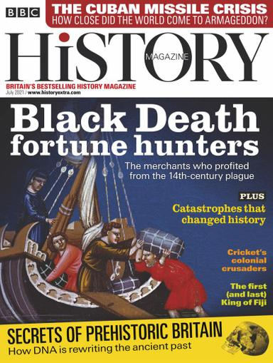 BBC History Magazine July 1st, 2021 Issue Cover