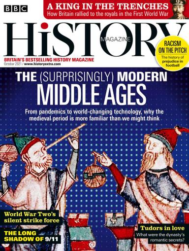 BBC History Magazine October 1st, 2021 Issue Cover
