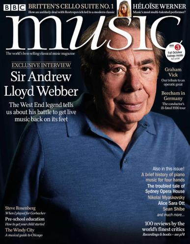 BBC Music Magazine October 1st, 2021 Issue Cover