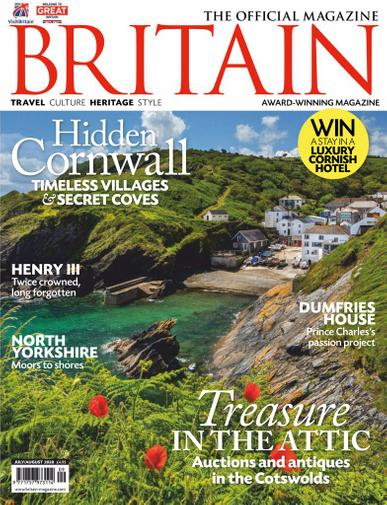 Britain Magazine July 1st, 2020 Issue Cover