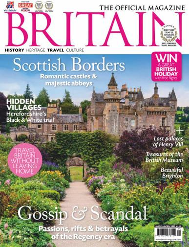 Britain Magazine March 1st, 2021 Issue Cover