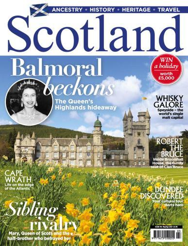Scotland Magazine March 1st, 2021 Issue Cover