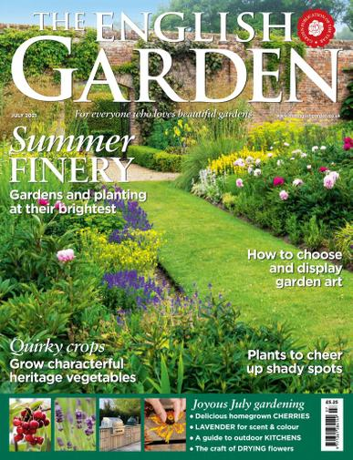 The English Garden Magazine July 1st, 2021 Issue Cover