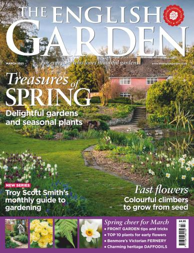 The English Garden Magazine March 1st, 2021 Issue Cover