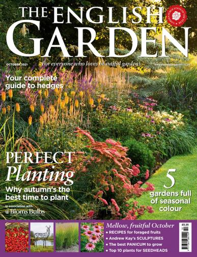 The English Garden Magazine October 1st, 2021 Issue Cover
