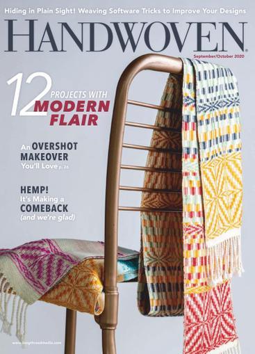 Handwoven Magazine September 1st, 2020 Issue Cover