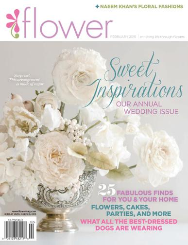 Flower Magazine January 1st, 2015 Issue Cover