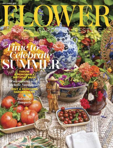 Flower Magazine July 1st, 2021 Issue Cover