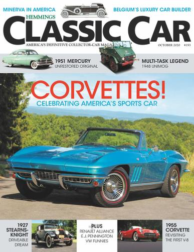 Hemmings Classic Car Magazine October 1st, 2020 Issue Cover