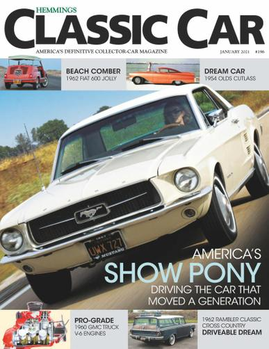 Hemmings Classic Car Magazine January 1st, 2021 Issue Cover