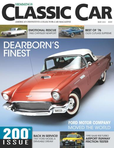 Hemmings Classic Car Magazine May 1st, 2021 Issue Cover