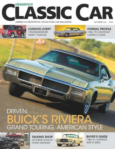 Hemmings Classic Car Magazine October 1st, 2021 Issue Cover