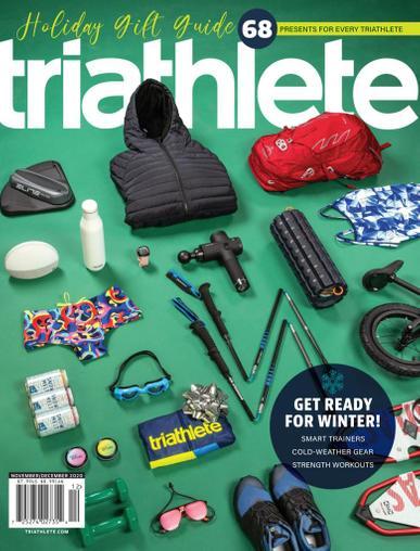 Triathlete Magazine November 1st, 2020 Issue Cover