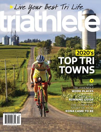 Triathlete Magazine September 1st, 2020 Issue Cover