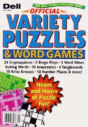 Dell Official Variety Puzzle Magazine Cover