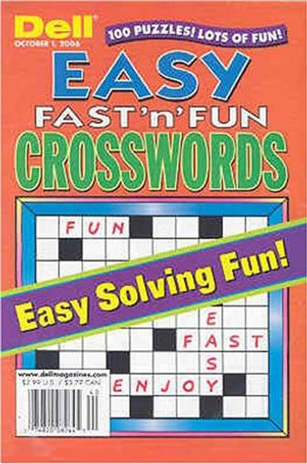 Easy Fast N Fun Crossword Magazine Cover