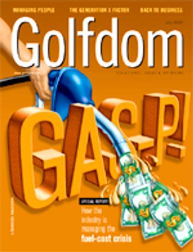 Golfdom Magazine Cover