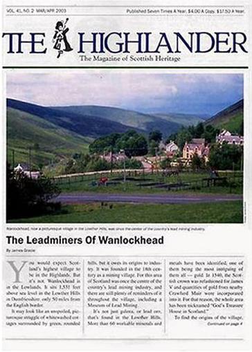 Highlander, The Magazine Cover