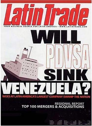 Latin Trade - Spanish Version Magazine Cover