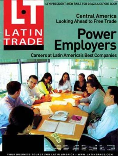 Latin Trade Magazine Cover