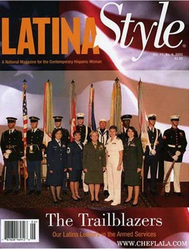 Latina Style Magazine Cover