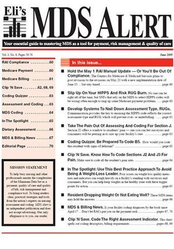 MDS Alert Magazine Cover