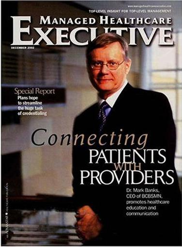 Managed Healthcare Executive Magazine Cover