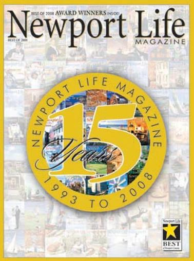 Newport Life Magazine Cover