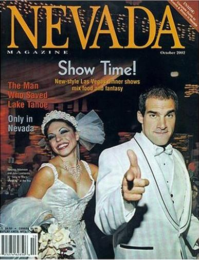 Nevada Magazine Cover