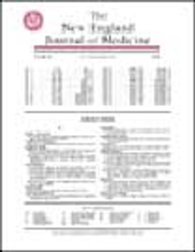 New England Journal of Medicine Cover