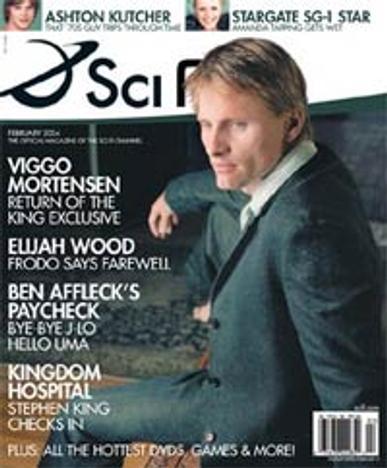Sci-Fi Entertainment Magazine Cover