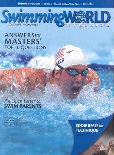 Swimming World Magazine Cover