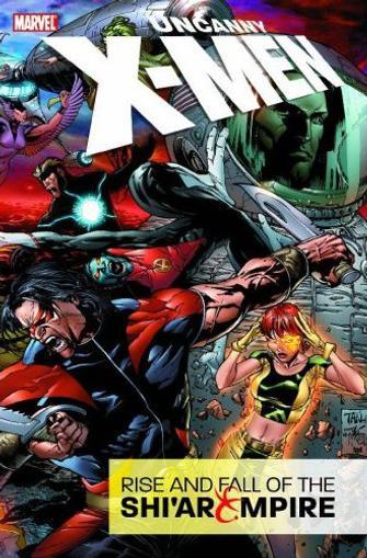 Uncanny X-Men Magazine Cover