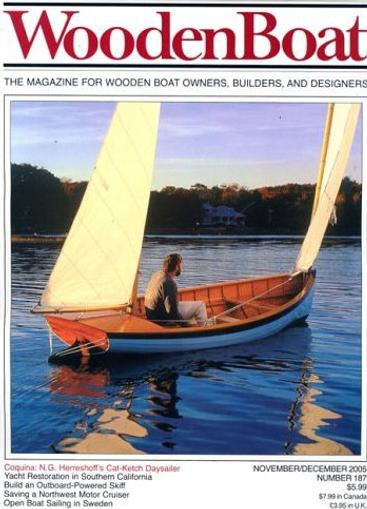 Wooden Boat Magazine Cover