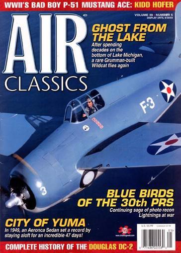 Air Classics Magazine Cover