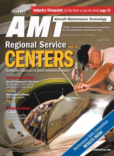 Aircraft Maintenance Technology Magazine Cover